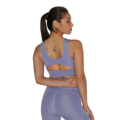 MuscleCloth Dora Sporcu Sütyeni Lila