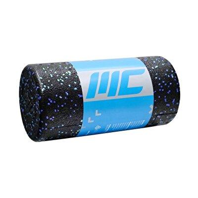 MuscleCloth Foam Roller Masaj Rulosu 30cm Siyah-Mavi
