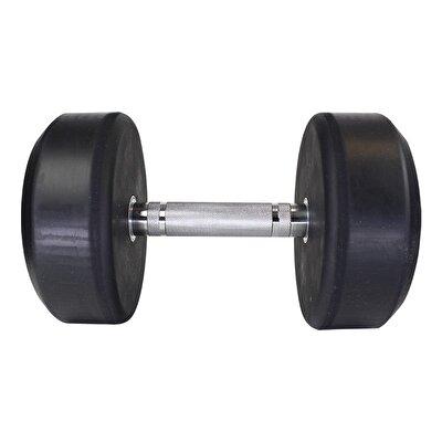 MuscleCloth Kauçuk Kaplı Profesyonel Dambıl 17,5 Kilo
