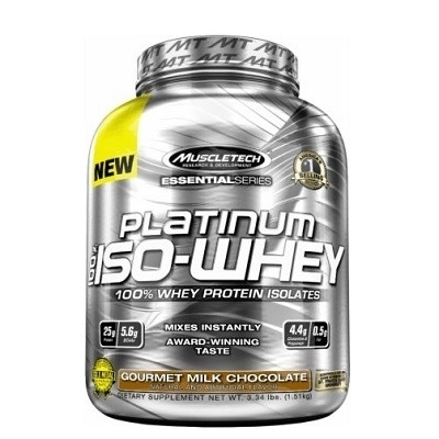 Muscletech Essential Series Platinum %100 Iso-Whey 812 Gr