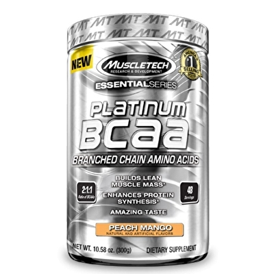 Muscletech Essential Series Platinum 2:1:1 BCAA 300 Gr
