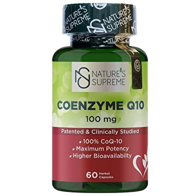 Nature's Supreme Coenzyme Q10 100 Mg 60 Kapsül