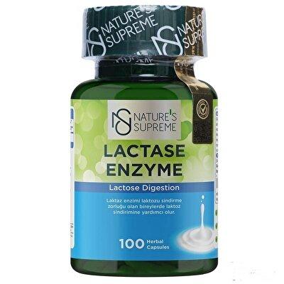 Nature's Supreme Lactase Enzyme 100 Kapsül