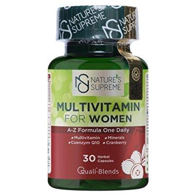 Nature's Supreme Multivitamin for Women 30 Kapsül