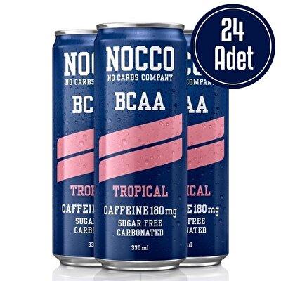 Nocco BCAA 330 mL 24 Adet Tropikal Aromalı
