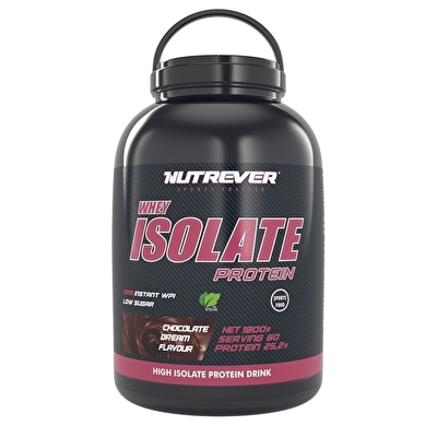 Nutrever Whey Isolate Protein 1800 Gr