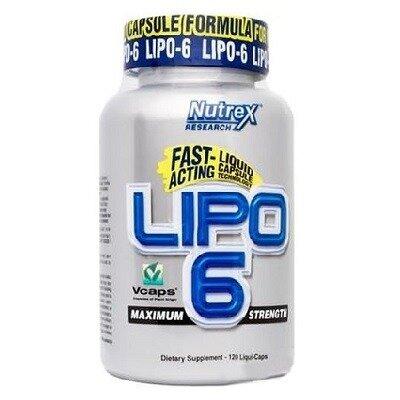 Nutrex Lipo 6 120 Sıvı Kapsül