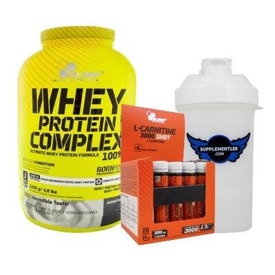 Olimp Whey Protein + L-Carnitine Kombinasyonu