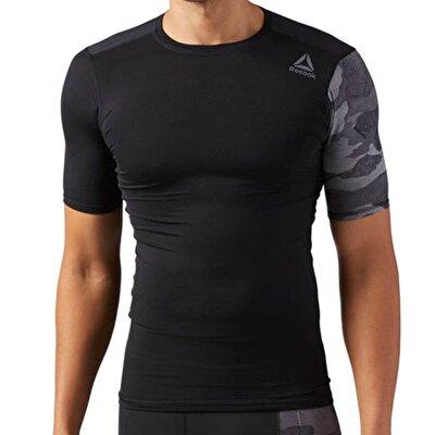 Reebok Activchill Graphic Compression T-Shirt Siyah
