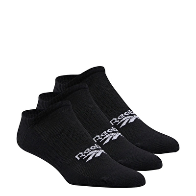 Reebok Classics Foundation Invisible Socks 3Lü Çorap Siyah