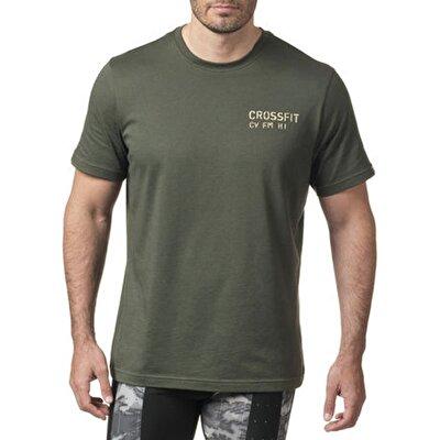 Reebok Crossfit Mess You Up T-shirt Haki/Yeşil