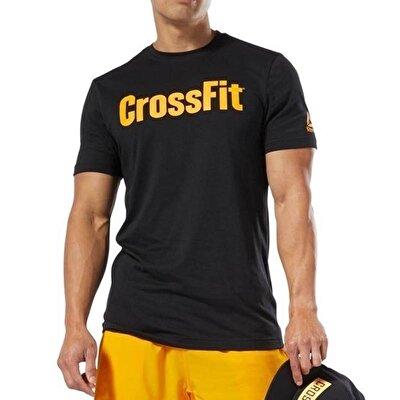 Reebok Crossfit Speedwick Graphic T-Shirt - Siyah