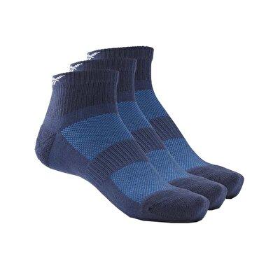Reebok Te Ank 3'lü Çorap Lacivert