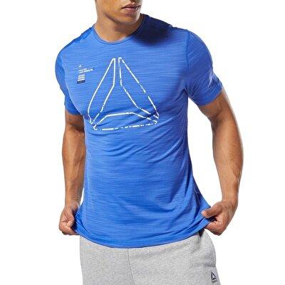 Reebok Training Activchill Graphic T-Shirt - Mavi