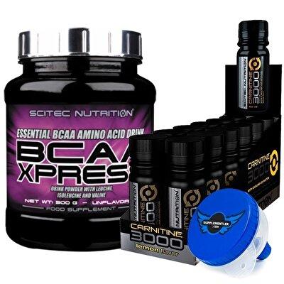 Scitec BCAA Xpress + L-Carnitine 3000 Kombinasyonu