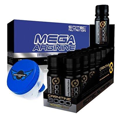 Scitec Mega Arginine + L Carnitine 3000 Kombinasyonu