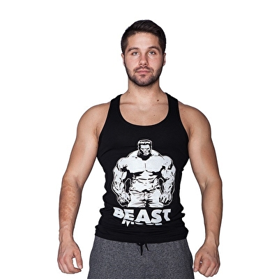 Supplementler.com Beast Mode HLK Tank Top Siyah