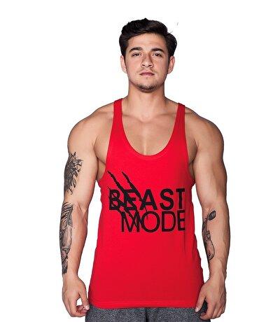 Supplementler.Com Beast Mode Hlk Fitness Atleti Kırmızı