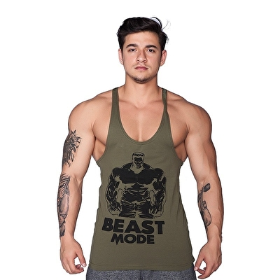 Supplementler.Com Beast Mode Hlk Fitness Atleti Yeşil