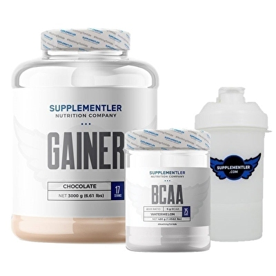 Supplementler.com Gainer 3000 Gr + BCAA 480 Gr Kombinasyonu