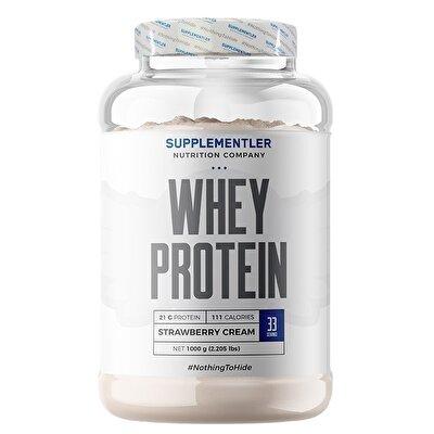 Supplementler.com Whey Protein 1000 Gr Çilek Aromalı