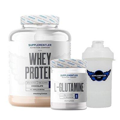Supplementler.com Whey Protein 2000 Gr + Glutamine 300 Gr Kombinasyonu