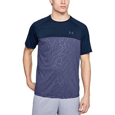 Under Armour 2.0 Emboss Short Sleeve T-Shirt Lacivert