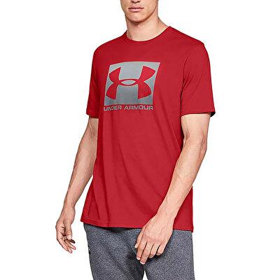 Under Armour Boxed Sportstyle T-Shirt Kırmızı