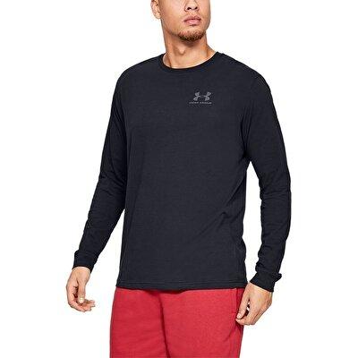 Under Armour Sportstyle Left Chest Long Uzun Kollu T-Shirt Siyah