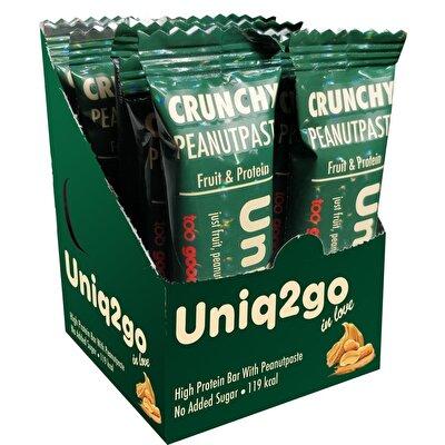 Uniq2go In Love Fıstık Ezmeli Protein Bar 32 Gr 12 Adet