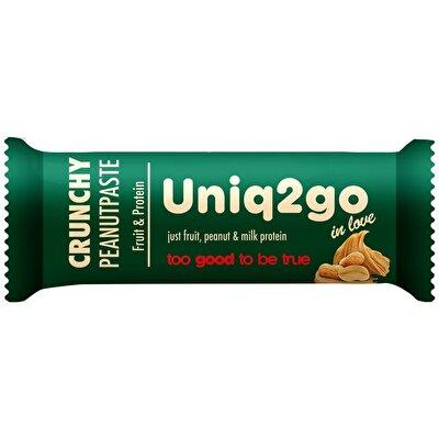 Uniq2go In Love Fıstık Ezmeli Protein Bar 32 Gr