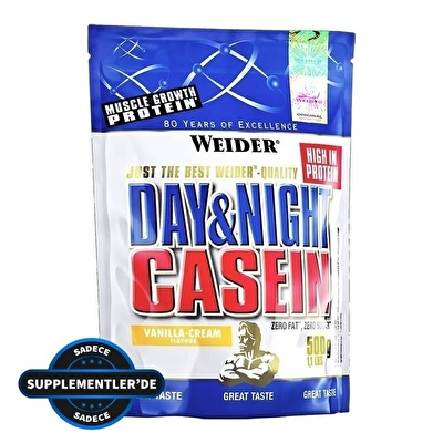 Weider Day&Night Casein 500 Gr