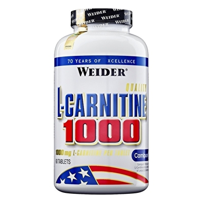 Weider L-Carnitine 1000 Mg 60 Tablet