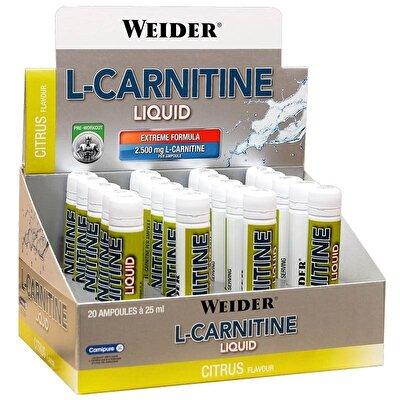 Weider L-Carnitine Liquid 2500 Mg 20 Ampül